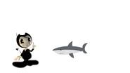 Bendy Meets Great White Shark