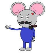 Mr Einstein Hamster (pipe) (swimsuit)