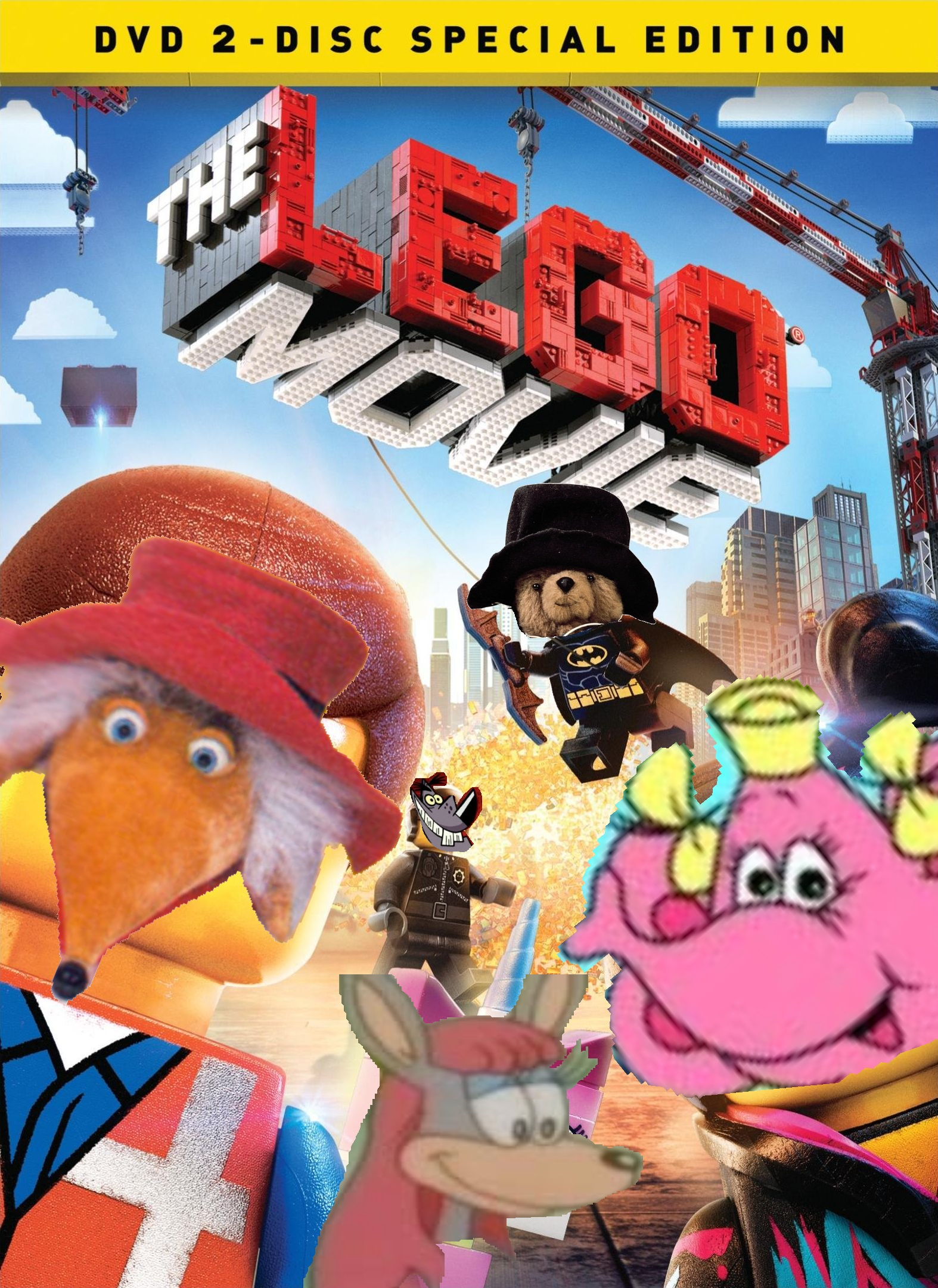 lego the movie dvd