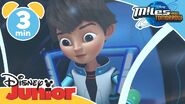 Miles from Tomorrowland Miles goes for a ride