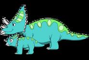 Dinosaur Train Chasmosaurus OC