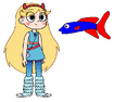 Star meets Fighting Fish