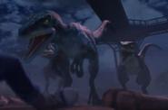 Camp Creatateous Velociraptors