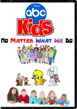 Disney's ABC Kids No Matter What We Do DVD Cover