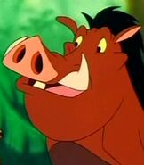 Pumbaa in Timon and Pumbaa
