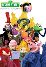Sesame Street (Cartoon and Disney Style)