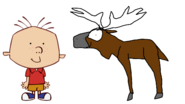 Stanley Griff Meets Moose