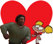 Wasabi and Dee Dee love together