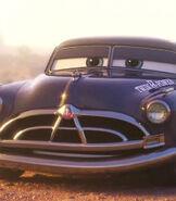 Doc Hudson in Cars 3