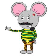 Mr. Einstein Hamster (pyjamas)
