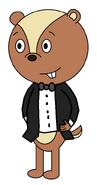 Mr Chris Pepper (tuxedo suit)