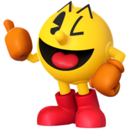 Pac-Man smash bros