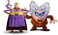 Professor Poopypants and Lord Nooth