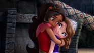 Elena and the Secret of Avalor Elena Sofia first hug