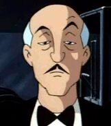 Alfred Pennyworth in Batman The Animated Series