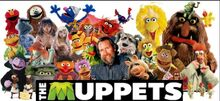 Jim Henson's cast of the Muppets and Creature Shop characters