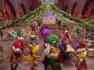 Kids World's Adventures of Be My Valentine, Love Barney (crossover)