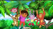 Dora and Friends Swinging (2)