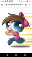 Timmy Turner PPG style