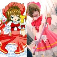 Cardcaptor-Sakura-Kinomoto-Sakura-Princess-Dress-Uniform-Outfit-Anime-Cosplay-Costumes