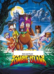 Ami and Yumi on Zombie Island Poster