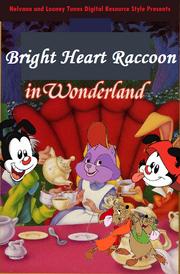 Bright Heart Raccoon In Wonderland