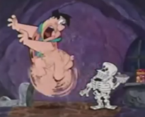 Fred Flintstone Screaming