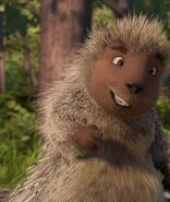 Lou Over the Hedge