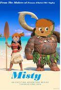 Mistty Moana Poster