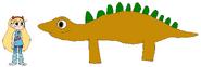 Star meets Kentrosaurus