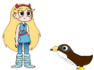 Star meets Lanner Falcon
