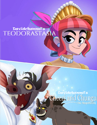 Teodorastasia and Cheezi and Chungu the Magnificents (1997-1999) double feature poster