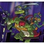 18-00117 nick rise of the tmnt realbig mural rm34 pdp