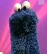 Cookie Monster in Sesame Street