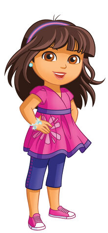 Dora grows up2