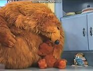 Ojo crying in Bear in the Big Blue House: Lost Thing