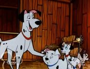 Pongo and Perdita in 101 Dalmatians TV series 8 grande