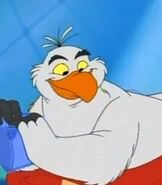 Scuttle in Disney's House of Mouse