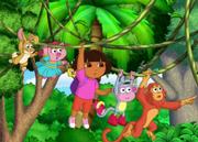 Dora and Friends Swinging (1)