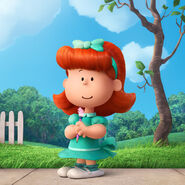 Little Red-Haired Girl peanuts 2015