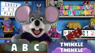 Sing-Along with Chuck E. Cheese ABC's & Twinkle, Twinkle Little Star Afternoon Fun Break