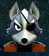 Wolf O'Donnell in Star Fox 64 3D