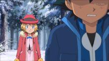 Serena Angry at Ash