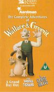 Wallace and Gromit UK VHS Cover