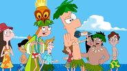 Ferb sings Backyard Beach