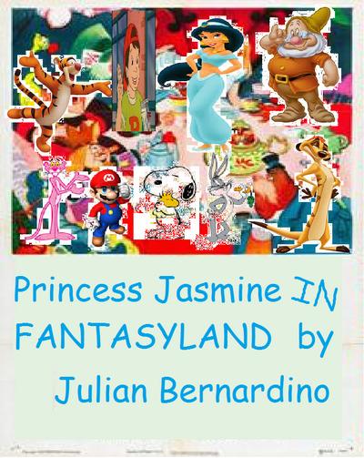 Jasmine in Fantasyland.