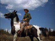 Little Joe Cartwright (Micheal Landon) on Cochise