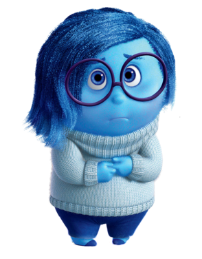 Sadness inside out characters
