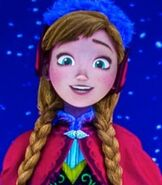Anna in Frozen Ever After