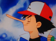 Ash Ketchum's Nose Grows
